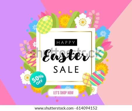 Easter Frame Stock Images, Royalty-Free Images \ Vectors - sample easter postcard template