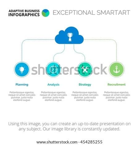 Creative Tree Diagram Template Stock Vector 454285255 - Shutterstock
