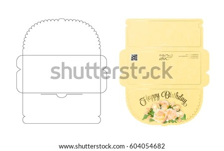 Envelope Template Stock Images, Royalty-Free Images \ Vectors - sample money envelope template