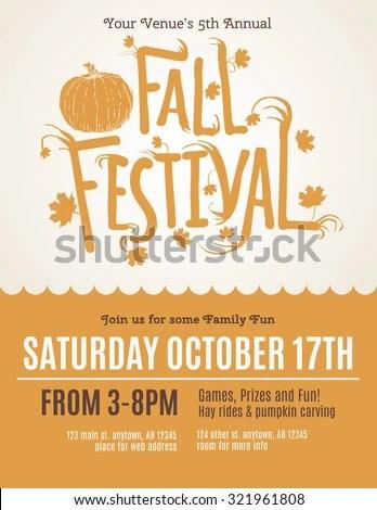 fall fest flyers - Towerssconstruction