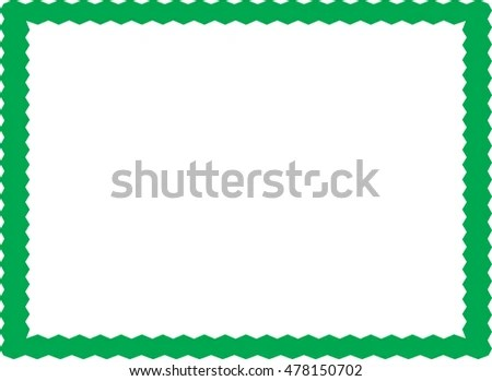 simple green border - Josemulinohouse - green photo frame