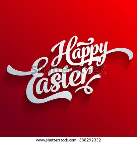 Vector Happy Easter Greeting Card Template Stock Vector 388292332