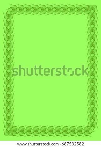 Solid Green Border cvfreepro - solid green border
