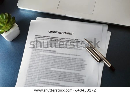 Credit Agreement Stock Photo 648450262 - Shutterstock - credit agreement