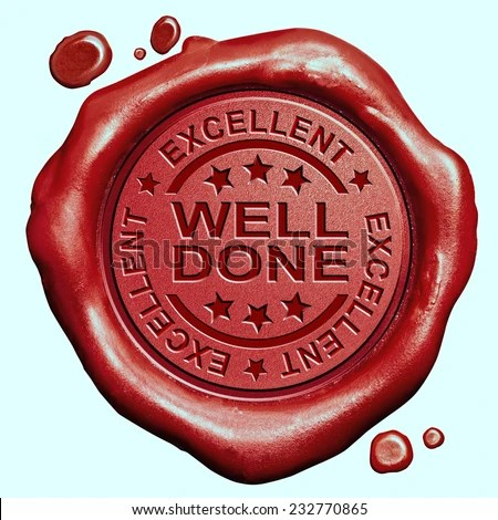 Well Done Excellent Job Great Work Stock Illustration 232770865 - job well done