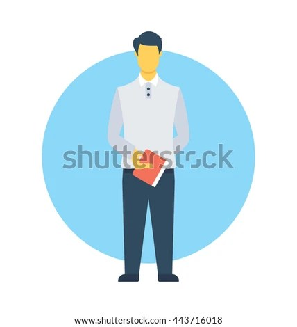 Order Taker Vector Icon Stock Vector 443716018 - Shutterstock