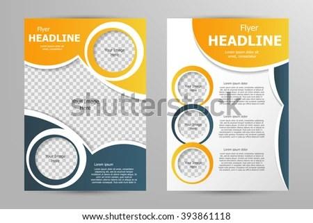 Vector Flyer Template Design Business Brochure Stock Vector - flyer template