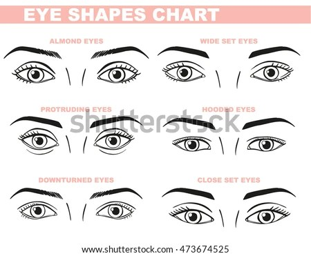 Eye Chart Template Ophthalmic Eye Care Vector Icon Set Eye Vector - eye chart template