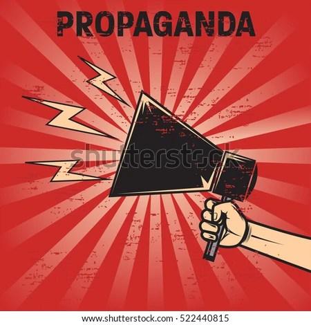 Propaganda Poster Template Stock Vector 522440815 - Shutterstock - propaganda poster template