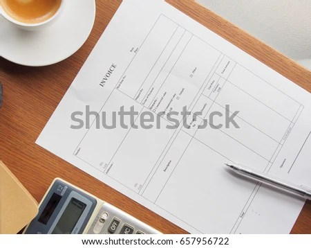 Commercial Invoice Stock Images, Royalty-Free Images \ Vectors - commercial shipping invoice