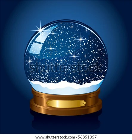 Free Christmas Falling Snow Wallpaper Snow Globe Stock Images Royalty Free Images Amp Vectors