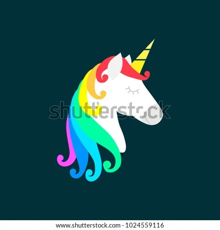 Cute Llamacorn Wallpaper Unicorn Silhouette Stock Images Royalty Free Images