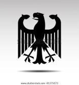 German Eagle Symbol Vector