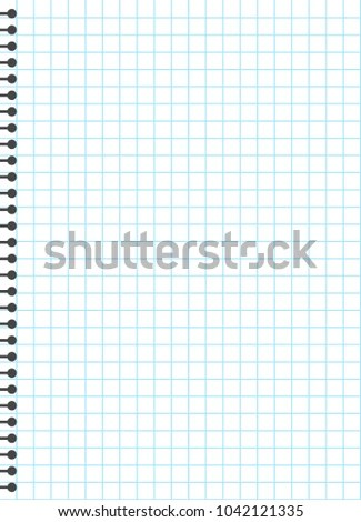 Blank Lined Paper Template One Page Stock Vector 1042121335 - line paper template