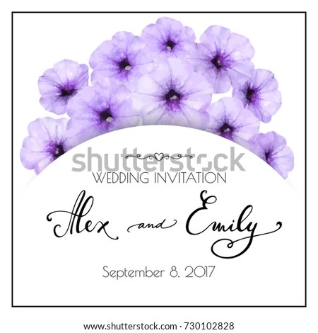 Wedding Invitation Save Date Birthday Another Stock Vector 730102828 - save the date birthday template