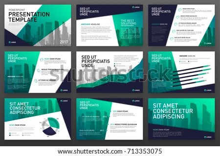 Business Presentation Templates Infographic Elements Use Stock