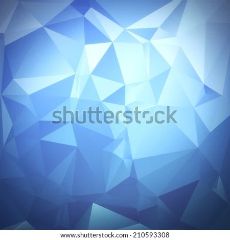 Abstract Diamond Facet Texture Bright Background Stock Illustration