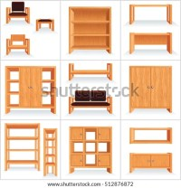 3d Isometric Furniture Clip Art Set Stock Vector 562821646 ...