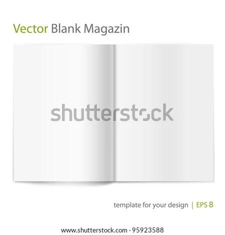 blank magazine cover templates - Pinarkubkireklamowe
