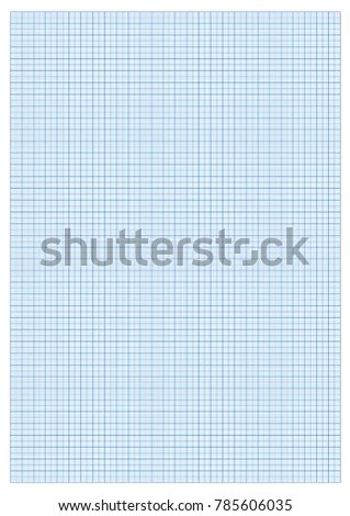 A 3 GRAPH PAPER STANDARD PRINTIMG Cm Stock Vector 785606035 - standard graphing paper