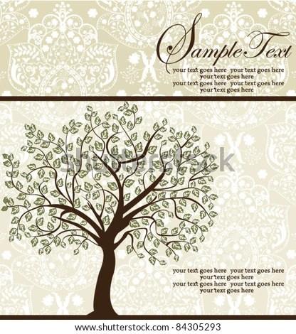 Family Reunion Invitation Card Stock Vector 84305293 - Shutterstock