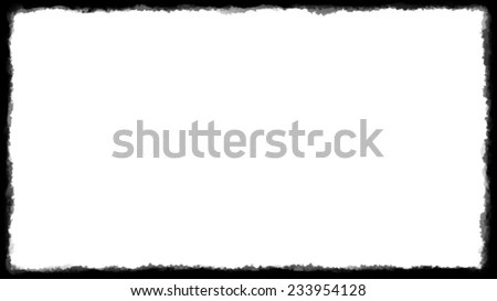 Unique Black Border On White Background Stock Illustration 233954128 - black border background