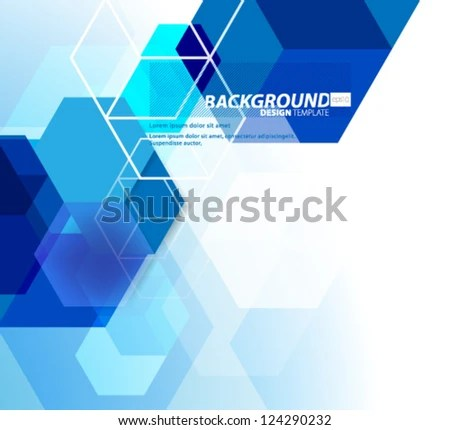 Abstract hexagon web design inspirations Pinterest Web - it executive summary template