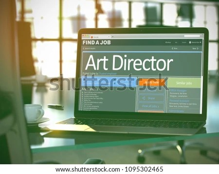 Art Director Job Find Concept Head Stock Illustration 1095302465 - how to find a head hunter