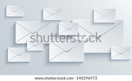 Vector Mail Background Eps 10 Stock Vector (2018) 140296972