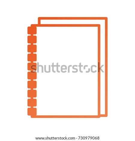 Address Book Contacts Business Office Supply Stock Vector 730979068