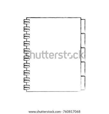 Address Book Contacts Business Office Supply Stock Vector (2018
