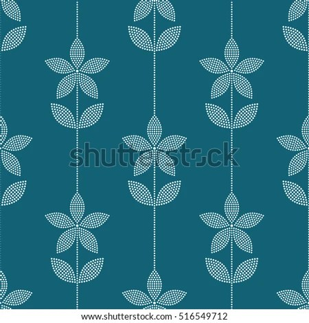 Fall Maple Leaf Tiled Wallpaper Leaf With White Dots Stock Photos Royalty Free Images