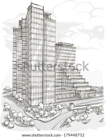 Building sketches photoshop brushes download (50 photoshop brushes