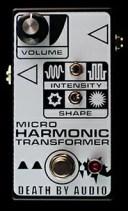 【レビューを書いて次回送料無料クーポンGET】Death By Audio Micro Harmonic Transformer エフェクター【メーカー1年保証】【デスバイ..