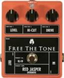 【即納可能】FREE THE TONE RED JASPER OVERDRIVE[RJ-1V]