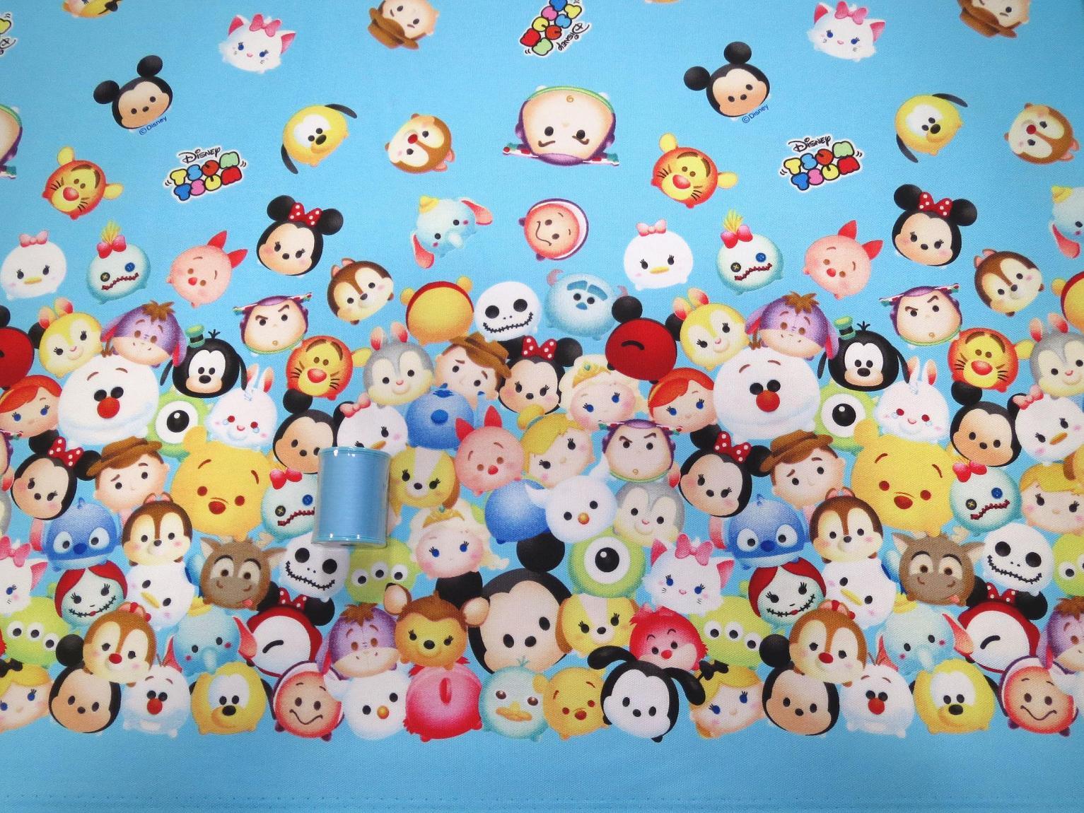 Cute Toothless Desktop Wallpaper 【楽天市場】【オックス】★50cm単位続けてカット★ディズニーツムツム サイドボーダー柄 【 ツムツム 生地
