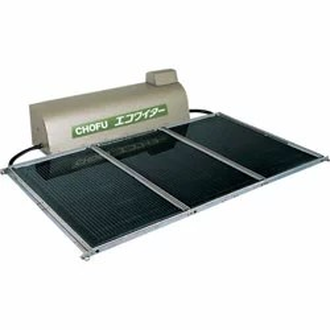 *長府製作所*SW1-311L 太陽熱温水器 エコワイター 自然循環形 高温ワイドタイプ