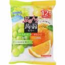 オリヒロプランデュ ぷるんと蒟蒻ゼリーパウチ マスカット+オレンジ 20g×12個
