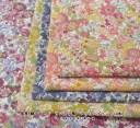 【リバティ風】【花柄 生地】 綿ブロード フラワープリント(6086)【リバティテイスト 生地】【花柄プリント 生地】生地 小花柄