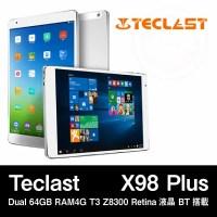 【9.7インチ 9.7型】Teclast X98 Plus Dual 64GB RAM4G T3 Z8300 Retina液晶 BT搭載