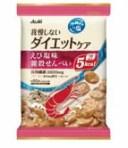アサヒ リセットボディ 我慢しないダイエットケア えび塩味 雑穀せんべい (22g×4袋) ツルハドラッグ