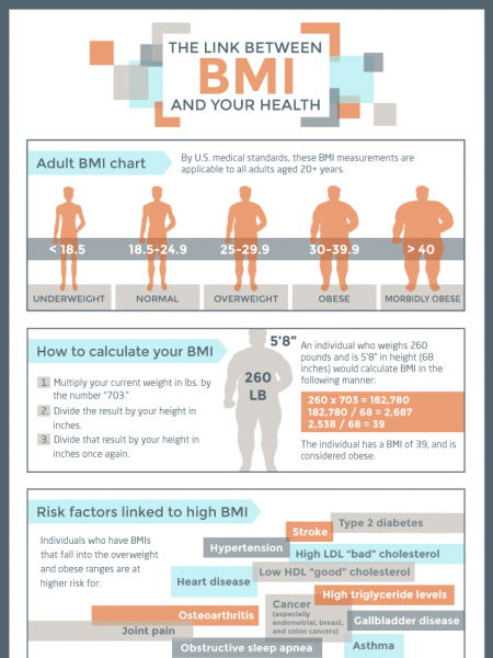 BMI Infographics Visually