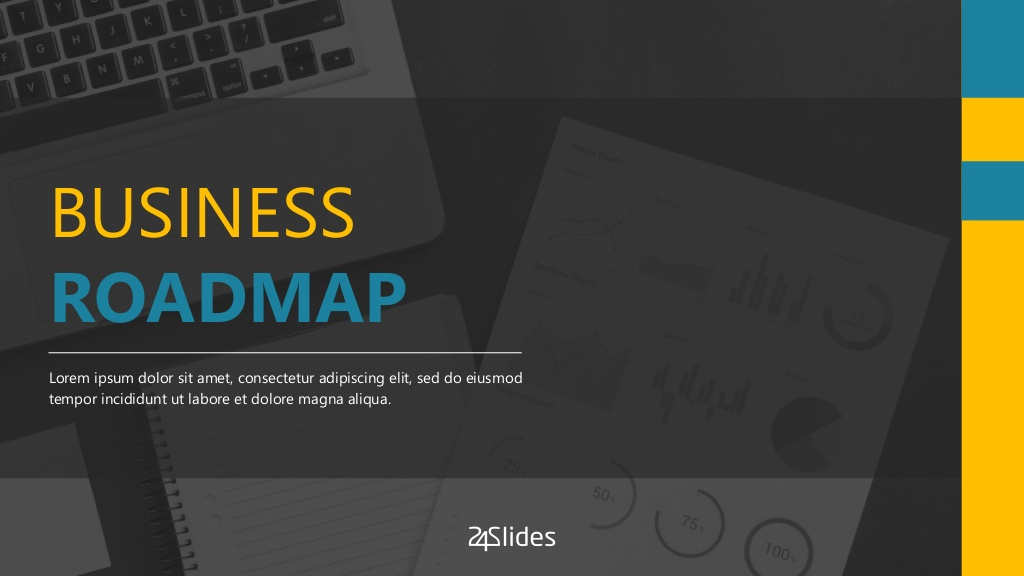 Business Roadmap Presentation Template Free Download Visually