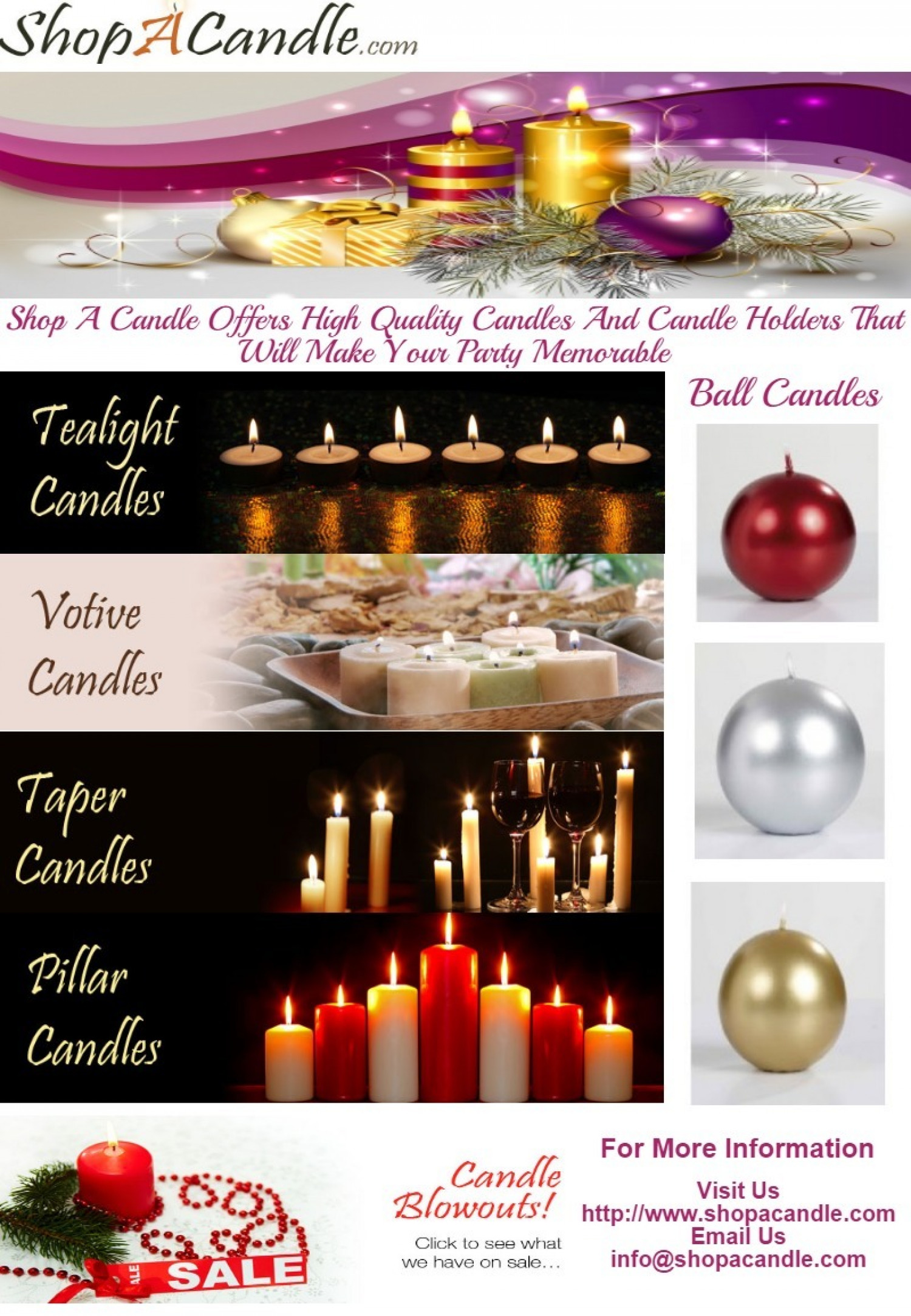 Buy Candles Online Buy Online Scented And Unscented Candles At Shopacandle Com