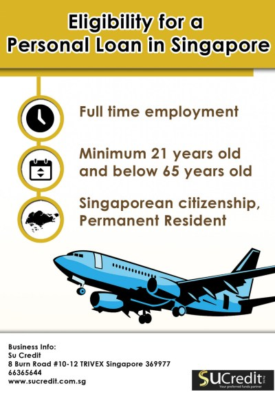 Eligibility for a Personal Loan in Singapore | Visual.ly