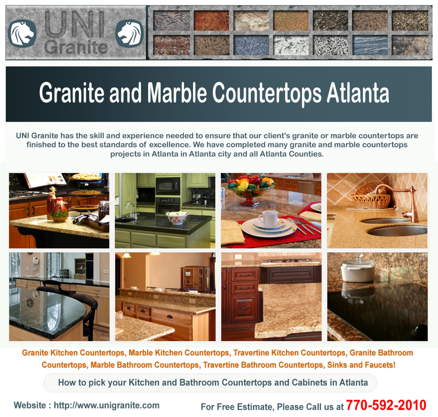 Atlanta Marble Countertops Granite And Marble Countertops Atlanta Visual Ly