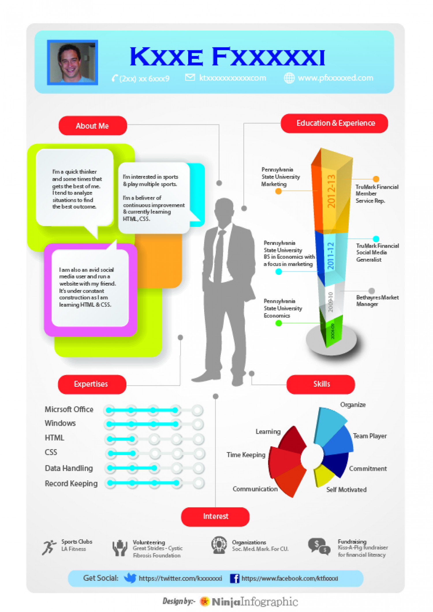 Infographic resume in 984239 - chesslinks.info