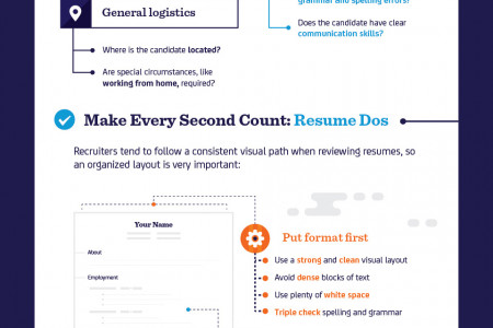 How to Make a Résumé Shine Visually - Resume Dos And Don Ts