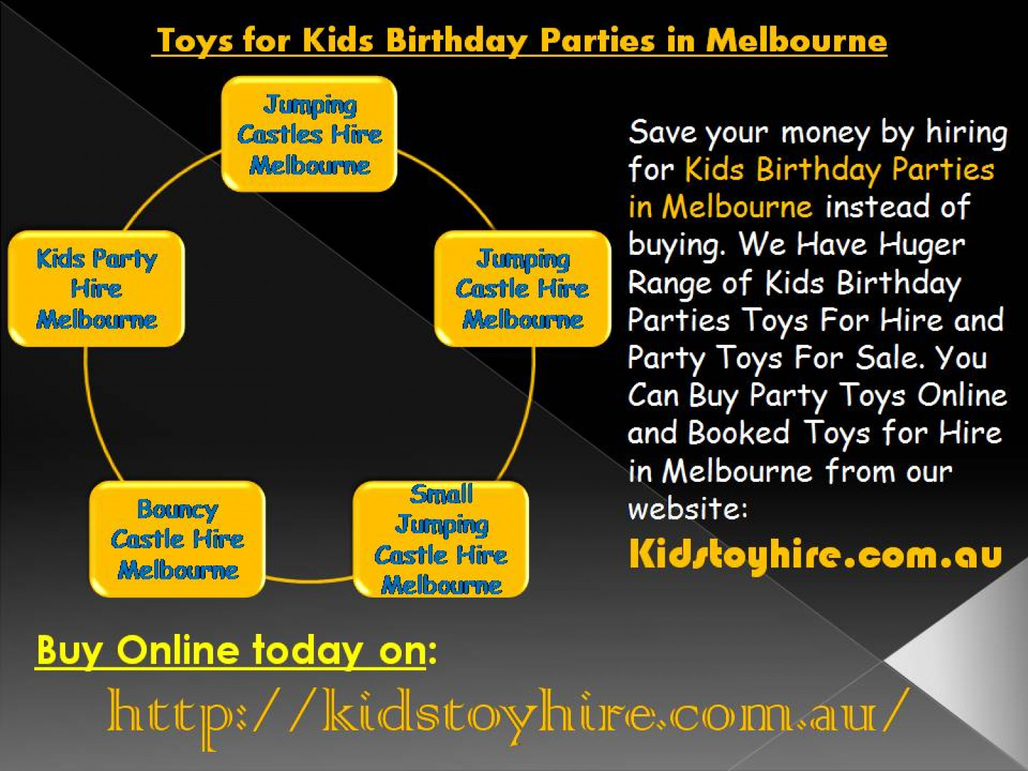 Toy Melbourne Toys For Kids Birthday Parties In Melbourne Visual Ly