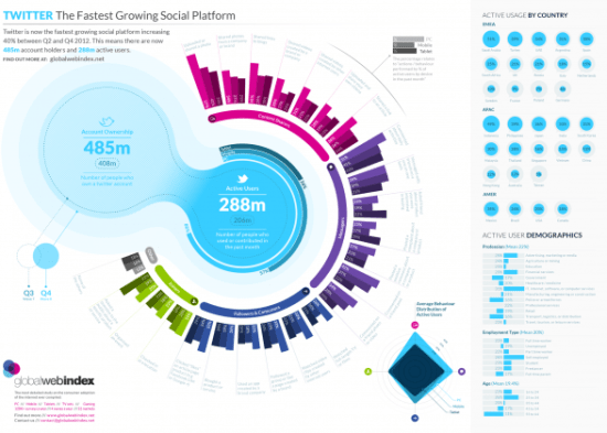 Twitter - The Fastest Growing Social Platform